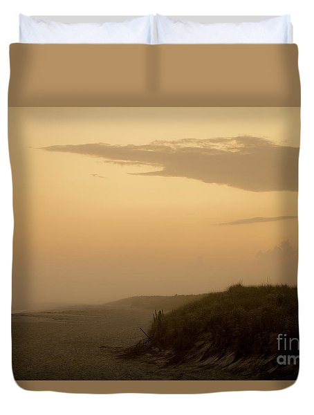Tobay Beach Long Island Duvet Cover