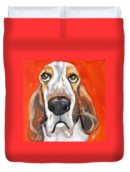 Toby Duvet Cover by Barbara O'Toole