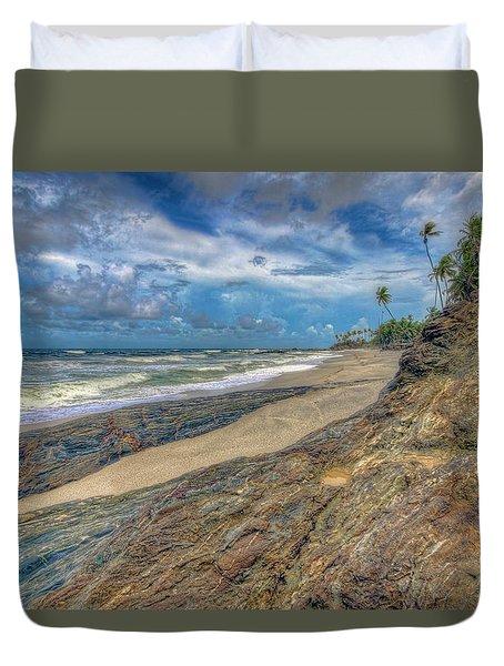 Toco Coastline Duvet Cover by Nadia Sanowar