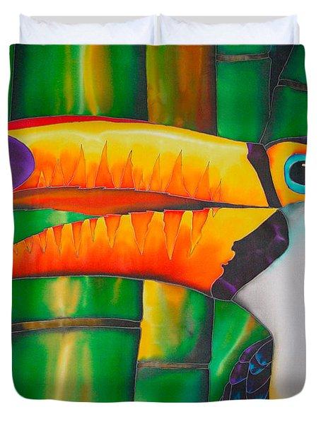 Toco Toucan Duvet Cover