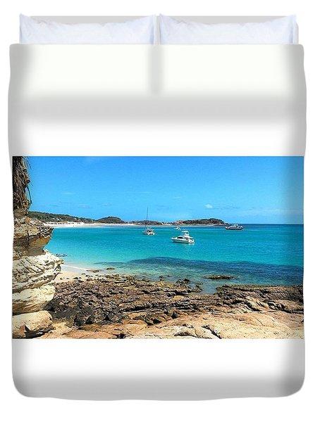 Great Keppel Island Duvet Cover