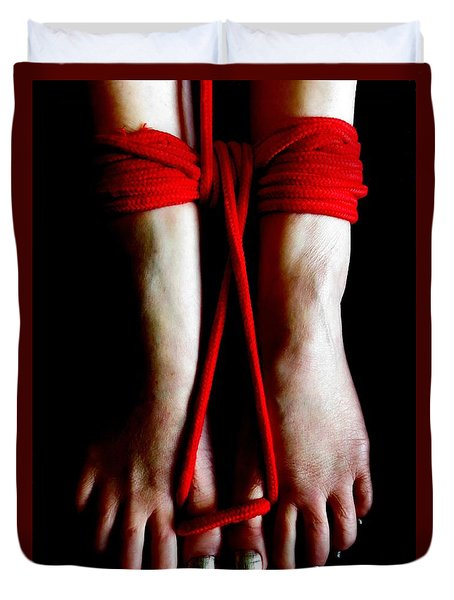 Toe Tied Duvet Cover