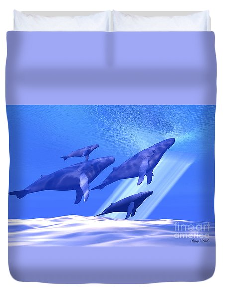 Together Duvet Cover by Corey Ford