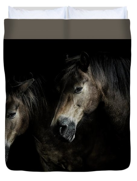 Together We Stand  Duvet Cover