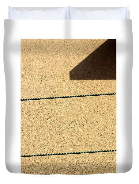Duvet Cover featuring the photograph Together Yet Apart by Prakash Ghai