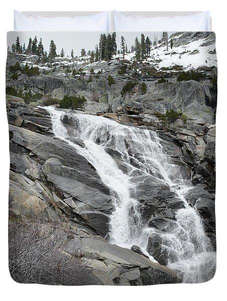Tokopah Falls Duvet Cover
