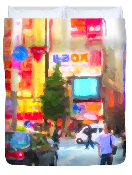 Tokyo Duvet Cover