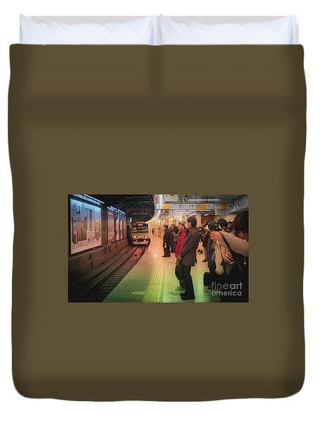 Tokyo Metro, Japan Duvet Cover
