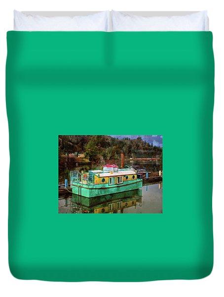 Toledo Showboat Duvet Cover
