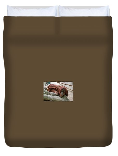 Tolerating Patience Duvet Cover