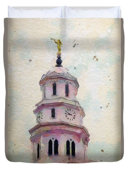 Tollel Maja Duvet Cover by Greg Collins