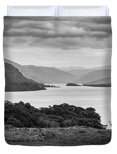 Tollie Farm And Loch Maree Duvet Cover