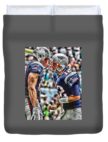 Tom Brady Art 4 Duvet Cover