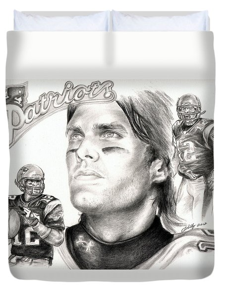 Tom Brady Duvet Cover
