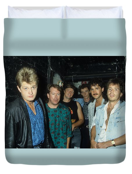 Tom Cochrane And Red Rider Duvet Cover