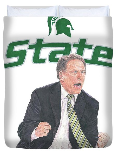 Tom Izzo Duvet Cover