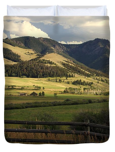 Tom Miner Vista Duvet Cover