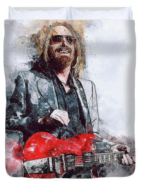 Tom Petty - 21 Duvet Cover