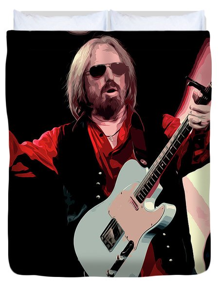 Tom Petty, Hypnotic Eye Duvet Cover