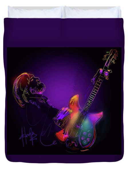 Tom Petty Tribute 1 Duvet Cover