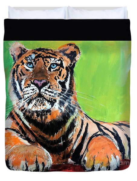 Tom Tiger Duvet Cover