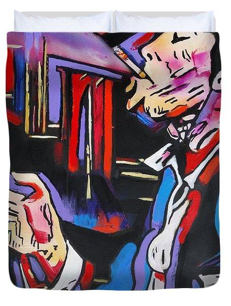 Tom Traubert's Blues Duvet Cover