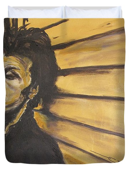 Tom Waits Duvet Cover