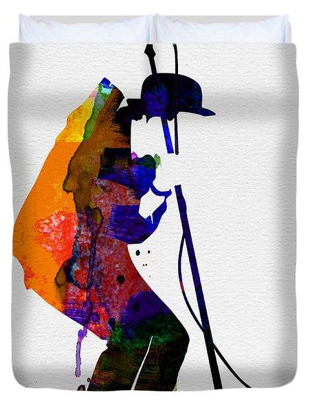 Tom Watercolor Duvet Cover