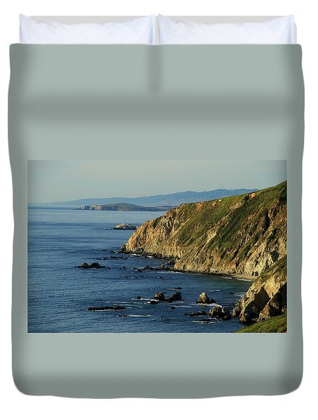 Tomales Point Duvet Cover