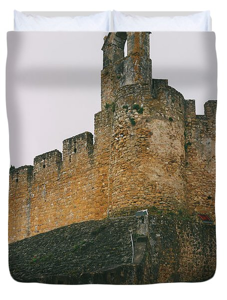Tomar Castle, Portugal Duvet Cover
