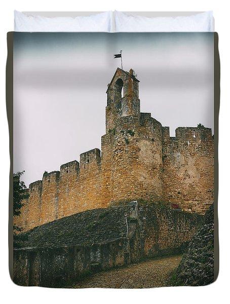 Tomar Castle, Portugal Duvet Cover
