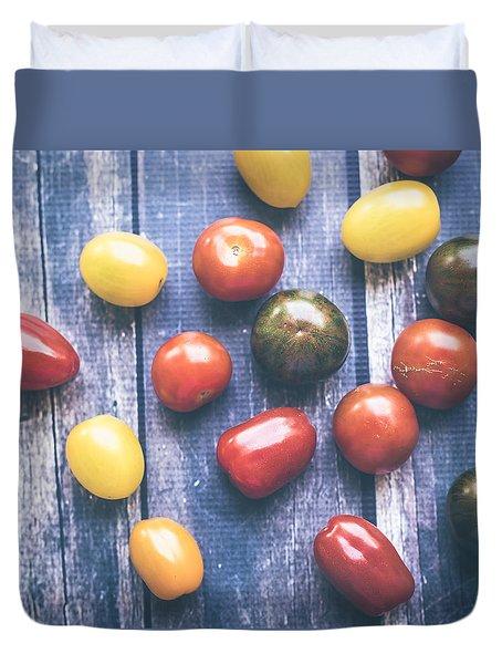 Tomato Medley  Duvet Cover