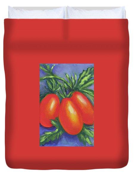 Tomato Roma Duvet Cover