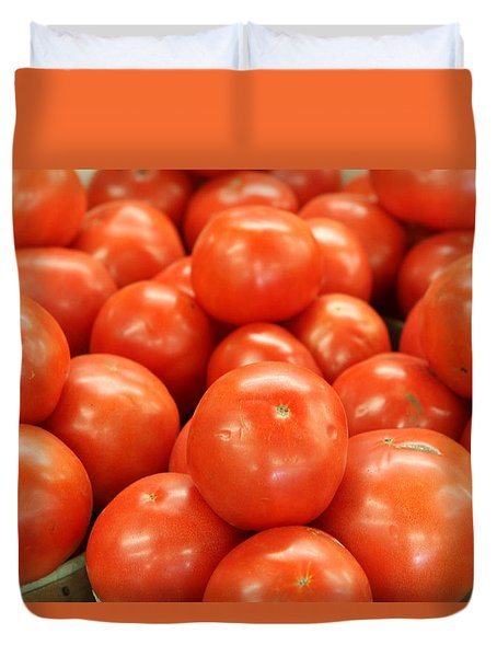 Tomatoes 247 Duvet Cover