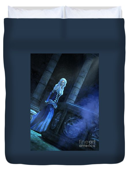 Tomb Of Shadows Duvet Cover