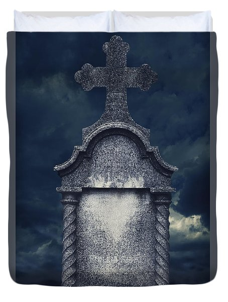 Tombstone Duvet Cover