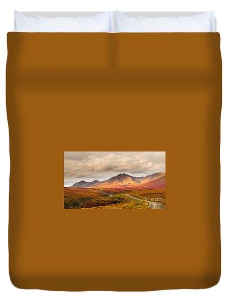 Tombstone Territorial Park Yukon Duvet Cover