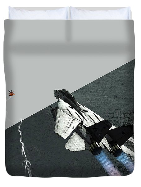 Tomcat Kill Duvet Cover