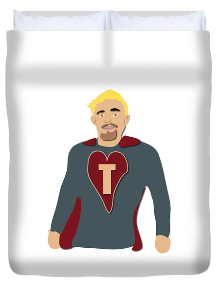 Tommy For Jenny And Jo Duvet Cover
