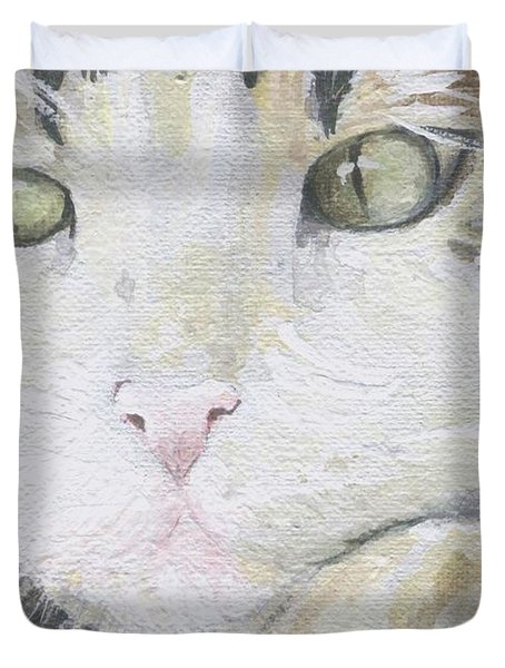 Tommy Duvet Cover by Mary-Lee Sanders