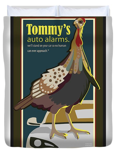 Tommy's Alarms Duvet Cover