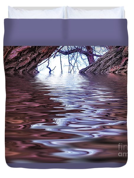 Tomorrow Land Duvet Cover by Nancy Marie Ricketts