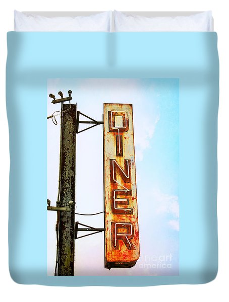 Tom's Diner Duvet Cover