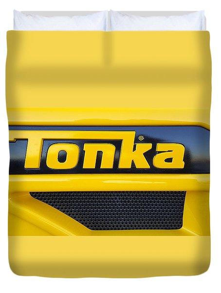Tonka Truck Logo Duvet Cover