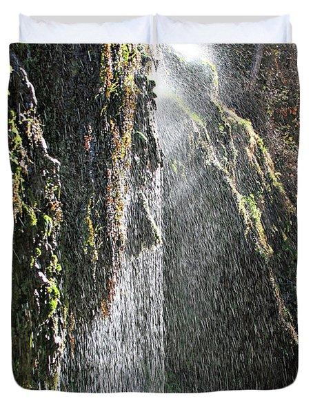 Tonto Waterfall Splash Duvet Cover