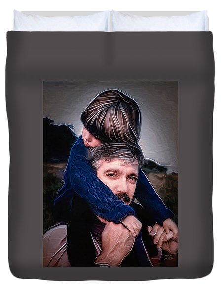 Tony And Rachel Duvet Cover