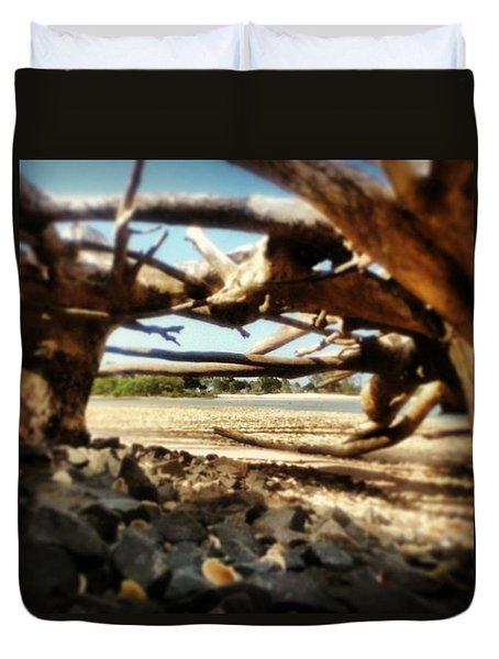 #toogom #beach #goodysonthebeach Duvet Cover