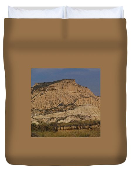 Bardenas Reales Duvet Cover by Charlotte Cooper