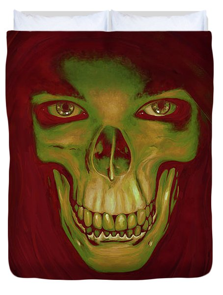 Toothy Grin Duvet Cover