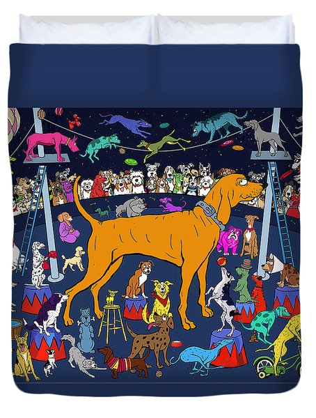 Top Dog Duvet Cover